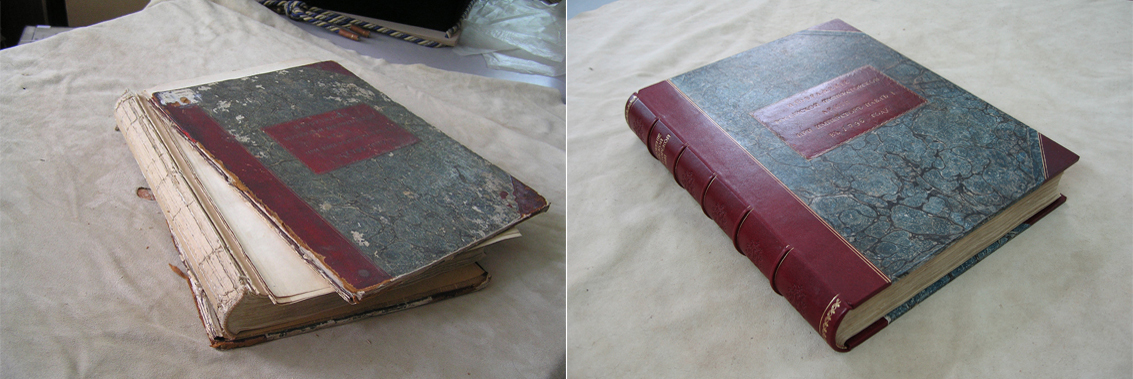 Реставрация старых книг своими руками